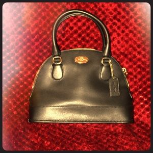 Black Coach Purse